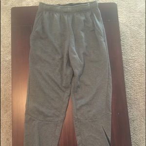 Men's Nike small gray joggers